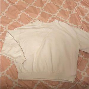 Wild fable white crewneck sweatshirt